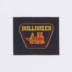 "Термоаппликация ""Bulldozer"" 3,8х3,2см"