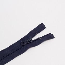 Молния спираль Т5 80см разъемная синий