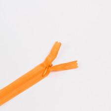 Молния потайная Т3 50см св.оранжевый