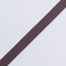 Лента киперная 15мм горький шоколад