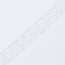Кружево на сетке KRUZHEVO 45мм неж.мята