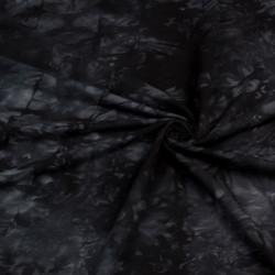 УЦЕНКА Футер 3х нитка петля принт тай дай черный