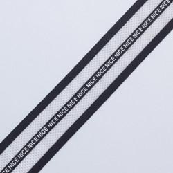 """Резина декор. 40мм белая сетка """"Nice"""""""