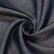 УЦЕНКА Подкладочная ткань жаккард серый мелк.штрихи