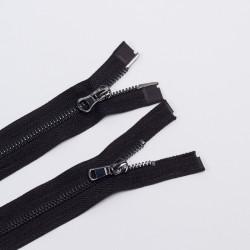 Молния металл Т5 70см 2 бег. черный/черный