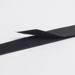 """Лента контактная """"Велкро"""" пришивная 25мм черный"""