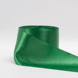 Лента атлас, 100мм светло-зеленый