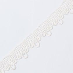 Кружево плетеное KRUZHEVO 40мм молочный