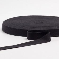Лента киперная 22мм черный