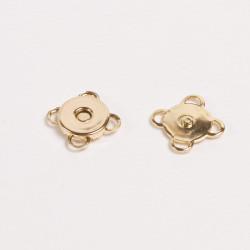 Кнопка магнитная пришивная 10мм золото