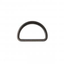 Полукольцо металл литое 30мм черный никель
