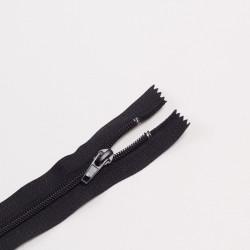 Молния спираль Т7 50см обувная черный