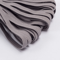 Резина продежка 10мм 10м/уп св.серый