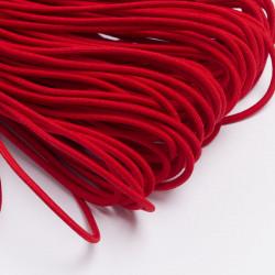 Резина шляпная 3мм красный