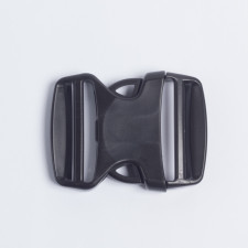 Фастекс 50мм пластик черный