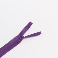 Молния потайная Т3 50см т.фиолетовый