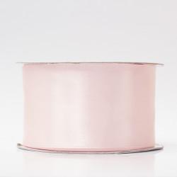 Лента атлас, 50мм св.розовый