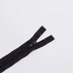 Молния спираль Т7 55см обувная черный