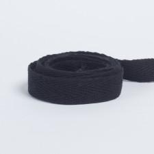 Лента киперная 15мм черный