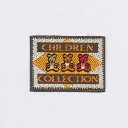 "Термоаппликация ""Children Collection"" зеленый 3,5х2,5см"