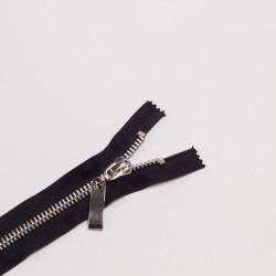 Молния металл Т8 16см черный/никель