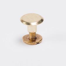 Винт 5мм золотой