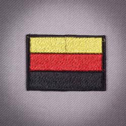 "Термоаппликация ""Флаг Германии"" 5,5х4см"