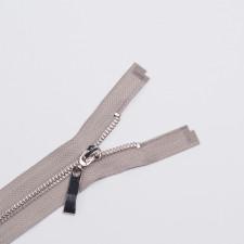 Молния металл Т5 70см разъемная св.серый/никель