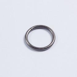 Кольцо металл разъемное 20х2,5мм черный никель