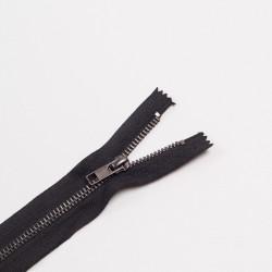 Молния металл Т5 18см джинс черный/оксид