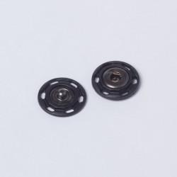 Кнопка пришивная пластик 18мм черный