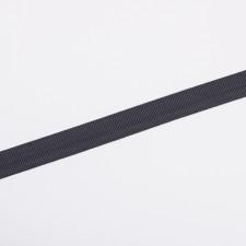 Лента брючная 15мм т.серый