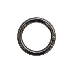 Кольцо-карабин металл 31х61мм черный никель