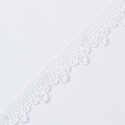 Кружево плетеное KRUZHEVO 40мм белый