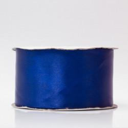 Лента атлас, 50мм сине-фиолетовый