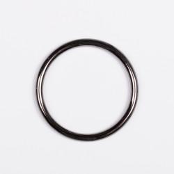 Кольцо металл не разъемное 50х4 мм черный никель
