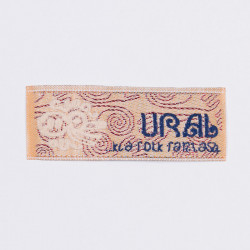 "Термоаппликация ""URAL"" 6,5х2,4см"