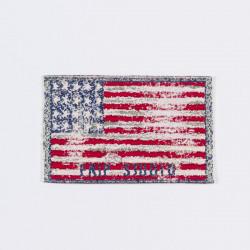 "Термоаппликация ""Американский флаг"" 5,5х3,5см"