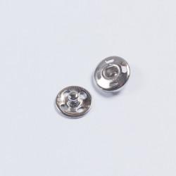 Кнопка пришивная металл 12мм никель