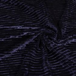 Ткань бархат плиссе