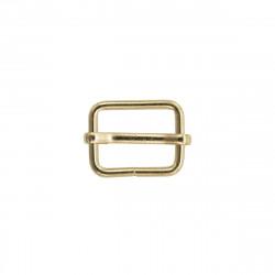 Рамка-регулятор металл 20х2мм золотой