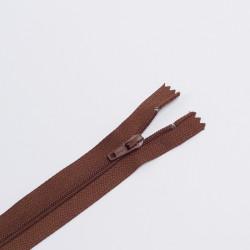 Молния спираль Т3 20см брючная коричневый