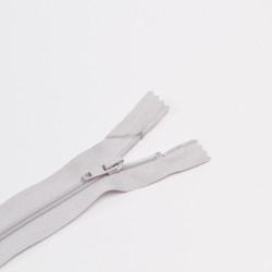 Молния спираль Т4 18см брючная бл.серый