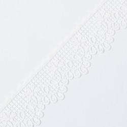 Кружево плетеное KRUZHEVO 60мм белый
