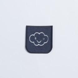 Термозаплатка джинсовая 8х7см облако-улыбка