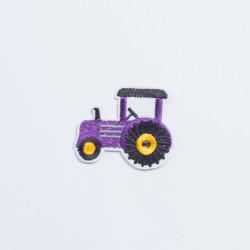 "Термоаппликация ""Трактор""  5х5,5см"