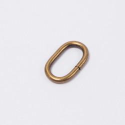 Кольцо овальное металл 20мм антик