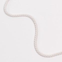 Шнур витой 5мм белый