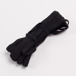 Резина продежка 8мм черный