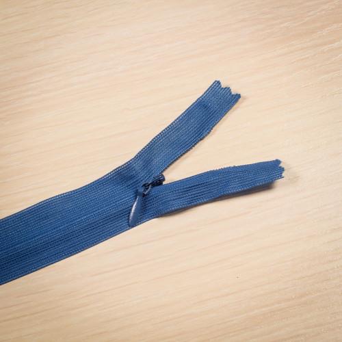 Молния потайная Т3 50 см Китай синий